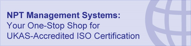 UKAS Accredited ISO Certification