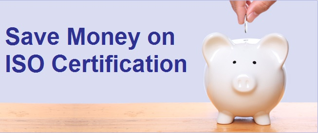 Save Money on ISO Certification